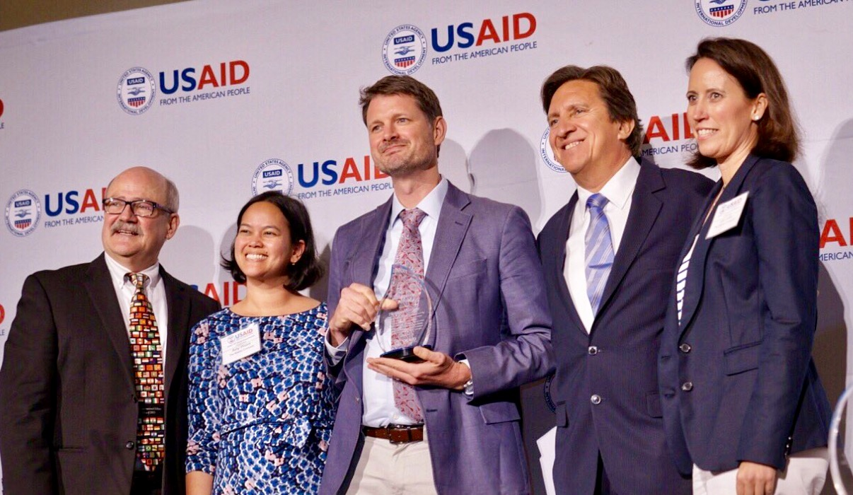 1. Kaizen receives USAID's Small Business of the Year Award